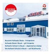 Grønland - Kofoeds Skole - Flot souvenirmappe