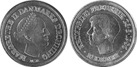 Kronprins Frederik 10kr.mønt