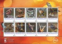 诺菲集邮,荷兰新邮,秋鸟系列 - 新票版票