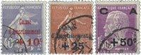 France 1927 - YT 249-51 - Oblitéré