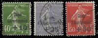 Frankrig 1931 - YT 275-77 - Stemplet