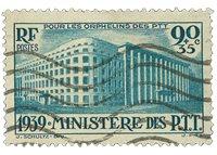 Frankrig 1939 - YT 424 - Stemplet