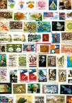 Stati Uniti - francobolli da missioni - 500 g