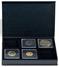 Muntenetuis AIRBOX - Zwart - 6 QUADRUM-muntcapsules - Met set-up functie