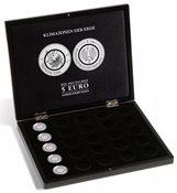 Møntboks - Til 25 x 5 Euro mønter 'Klimazonen der Erde*