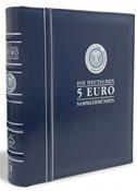Album numismatique - Optima - allemandes de 5 euros - tome 1 - avec étui
