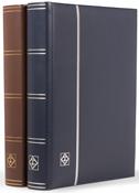 Classeur - Bleu - A4 - 64 pages noires - couverture ouatinée