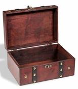 Bauletto del tesoro in legno RUSTIKA