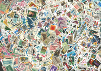 Etats-Unis - 3000 timbres diff.
