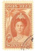 Suriname 1923 - NVPH 107 - stemplet