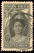 Suriname 1923 - NVPH 109  - stemplet