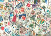 Europa - 10000 forskellige frimærker