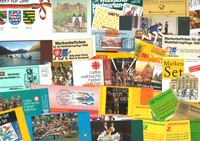 West Germany/Berlin - 100 different booklets incl.  charity