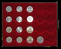 13 erindrindsmønter fra Danmark