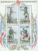 France - YT No. 10 - Mint Souvenir sheet