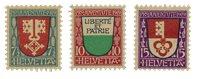 Schweiz 1919 - Michel 149/51 - Postfrisk