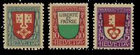 Suisse 1919 - Michel 149/51 - Neuf