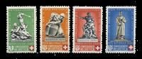 Suisse 1940 - Michel 364/67 - Neuf
