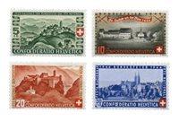 Suisse 1944 - Michel 431/34 - Neuf