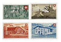 Schweiz 1946 - Michel 471/74 - Postfrisk