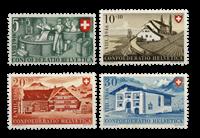 Suisse 1946 - Michel 471/74 - Neuf