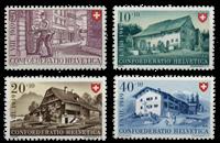 Schweiz 1949 - Michel 525/28 - Postfrisk