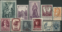 Belgien - Samling - 1863-1958