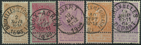 Belgien - 1893-1900