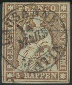 Schweiz - 1854
