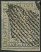 Suisse - 1855