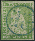 Suisse - 1854