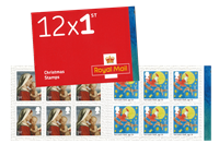 Great Britain - Christmas 2017 - Mint booklet 1st