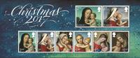 Great Britain - Christmas 2017 - Mint souvenir sheet