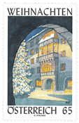 Austria - Advent 2010 - Mint stamps