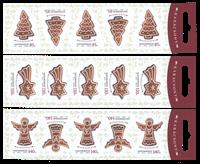 Hungary - Christmas 2013 - Mint set 3 booklets