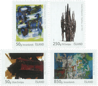 Iceland - Visual Art - Mint set 4v
