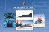 Man - Bloodhound SSC / Superson - Postfrisk miniark