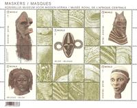 Belgium - Masks - Mint souvenir sheet