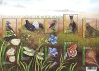 Belgien - Fauna og Flora - Postfrisk miniark