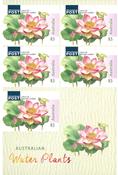 Australia - Water Plants - Mint booklet 3.00