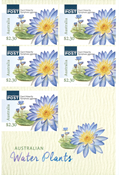 Australia - Water Plants - Mint booklet 2,30