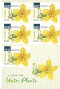 Australia - Water Plants - Mint booklet 2,10