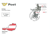Austria - Day of the Stamp - First Day Cover