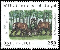 Østrig - Hjorte - Postfrisk frimærke