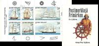 Finland postfrisk hæfte skibe 1997