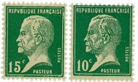 France 1923 - YT 170/71 - Neuf
