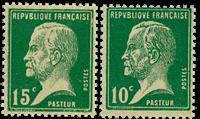 Frankrig 1923 - YT 170-71 - Postfrisk