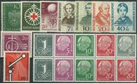 Vesttyskland - Parti - 1953-55