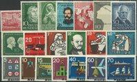 Allemagne de l'Ouest - Lot - 1952-65