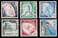 Monaco - YT 386/91 - Neuf
